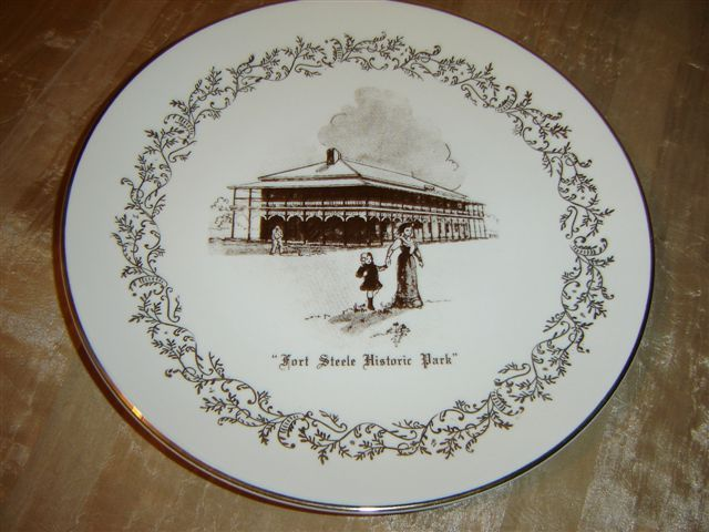 Vintage Fort Steele Historic Park Plate
