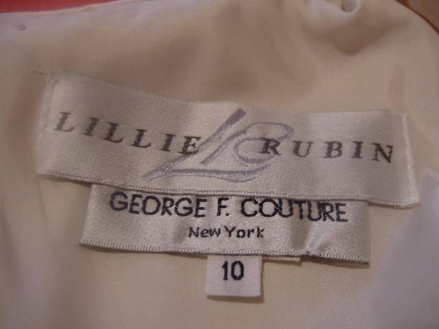 LILLIE RUBIN GOWN - BRIDESMAID/EVENING