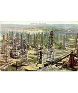 California Oil Wells Vintage Post Card - $7.00