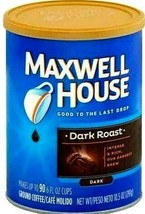 Maxwell House Dark Roast Ground Coffee 10.5 oz (Pack of 6) - $44.54