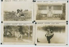 1940 French Creek Cochranton Pennsylvania Photo Lot Vintage Fishing Outd... - $75.00