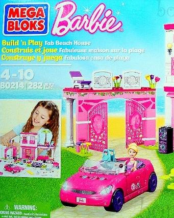 Barbie Mega Bloks Fab Beach House