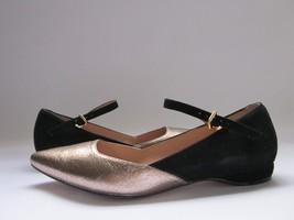 $215 Pour La Victoire Bonat Flats Pewter Women'... - $34.64