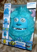 Monsters Inc University Sulley Monster Mask Disney Pixar-Costume-Furry P... - $14.82