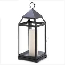 6 Tall Black Lantern Extra Large Candle Holder Wedding Centerpieces - $148.45