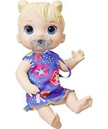 Baby Alive Baby Lil Sounds: Interactive Blonde Hair Baby Doll - $29.99