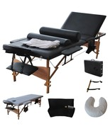 "Best 84""L Fold Massage Table Portable Facial Bed W/Sheet+Cradle Cover+2 ... - $97.49"