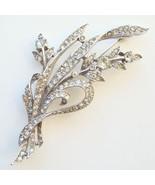 1941 Trifari Rhinestone Floral Brooch Alfred Sp... - $95.00