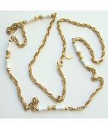 1977 Sarah Coventry Summer Scheme Chain Necklac... - $24.00