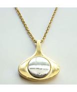 1976 Avon New Dimensions Pendant Necklace in Go... - $27.00