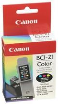 Genuine Canon BCI-21c Color Ink Tank 0955A003 - $6.95
