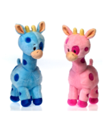 "Precious Baby Giraffe 10"" Stuffed Animal in Blu... - $18.75"