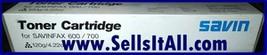 Brand NEW Genuine Savin 9825 Toner Cartridges for SAVINFAX 600/700 - $19.95
