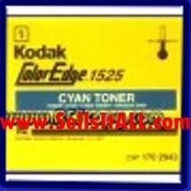 Brand NEW Genuine Kodak 170 2943 Cyan Toner for COLOREDGE 1525 - $19.95