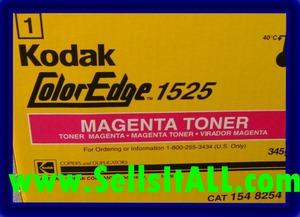 Brand NEW Genuine Kodak 154 8254 Magenta Toner for COLOREDGE 1525 - $19.95