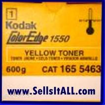 Brand NEW Genuine Kodak 165 5463 Yellow Toner For Coloredge 1550 - $29.95