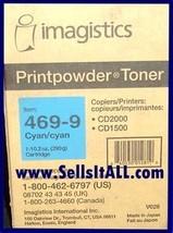 Brand NEW Genuine Imagistic 469-9 Cyan Toner for CD-1500-2000 - $19.95