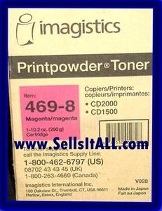Brand NEW Genuine Imagistics 469-8 Magenta Toner For CD-1500-2000 - $19.95