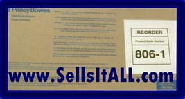 Brand NEW Genuine Pitney Bowes 806-1 Cartridge For 9500-9520-9550 - $24.95