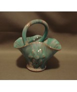 Ceramic Blue and White Small Basket Made in  Italy - $9.99