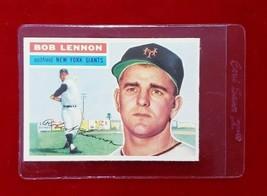 1956 Topps Set Break #104 - Bob Lennon EX-MT (grey back) - $7.70