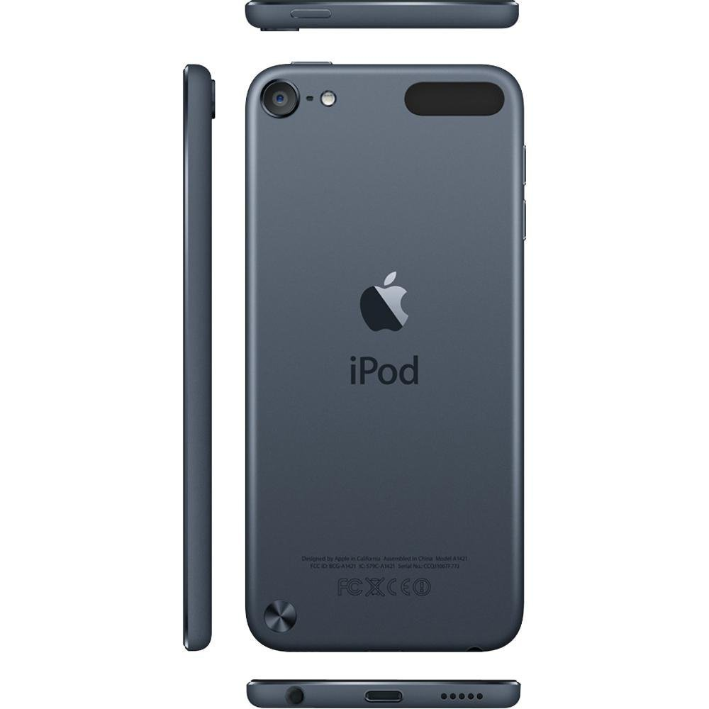 Apple iPod touch 16GB Black/Silver (5th Generation) NEWEST ...