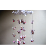 Origami Crane Mobile - Baby Mobile - Children Mobile - Nursery Decor - $50.00