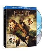 The Hobbit:  Desolation of Smaug Blu Ray DVD and Exclusive Lego 30215 Le... - $39.95