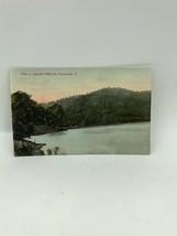 Vue En Lac Millbrook Park Portsmouth Ohio Carte Postale - $10.02