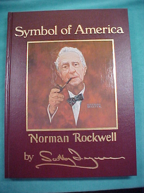 Norman Rockwell Book Symbol of America by Scott Ingram
