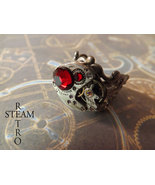 The Redrum Steampunk Ring - Steampunk Jewelry by Steamretro - $32.00