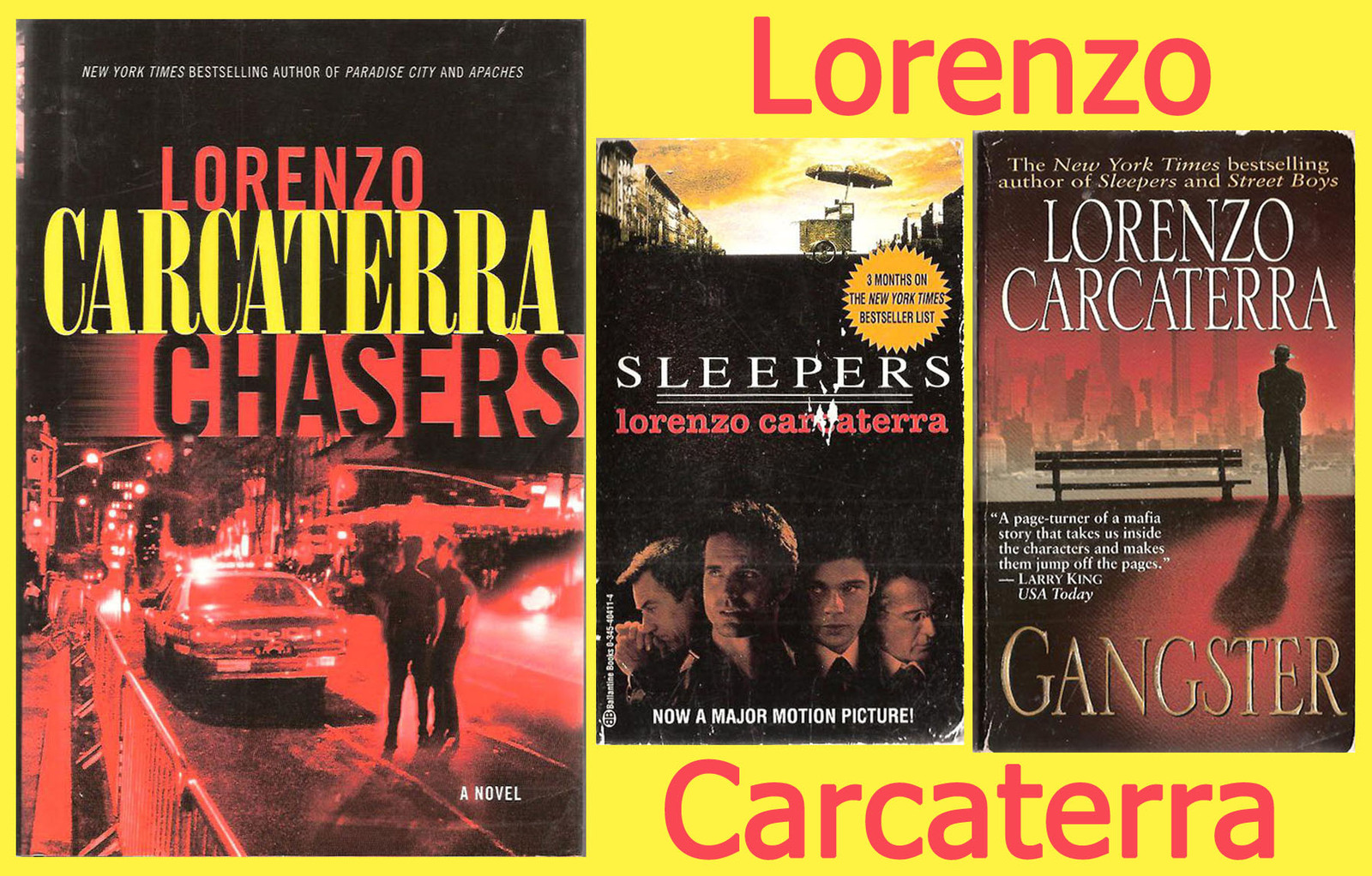 sleepers by lorenzo caracttera essay The source menu search for: search author and screenwriter lorenzo carcaterra to talk about and sleepers a safe place contains carcaterra's trademark.