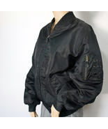 Men's Bomber Jacket Reversible Quilted Preppy G... - $30.00