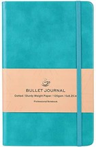 Bullet Journal - Dot Grid Hard Cover Notebook, Premium Thick Paper with ... - $12.79