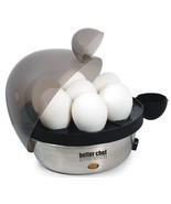 Breakfast Kitchen Electric Pressure Alert Poacher Water 1- 7 Eggs Minute... - €49,53 EUR