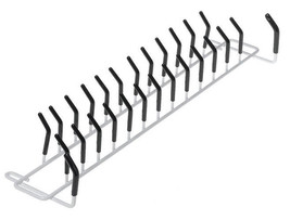 Belt and Tie Hanger Closet Hook Peg Wardrobe Bar Wall Outfit Rack Organi... - €24,06 EUR