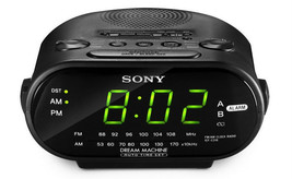 Alarm FM AM Sleep Wake-up Tired Digital Stereo Music Song Time Dual Cloc... - $89.99
