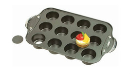 Cheesecake Muffin Cornbread Cupcakes Bake Kitchen Mini Nonstick Cake 12-... - $25.73