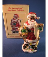 The International Santa Claus Collection African American Santa United S... - $21.58