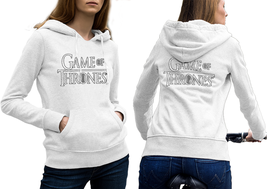 New Game Of Thrones Hoodie Classic Women White - $35.99