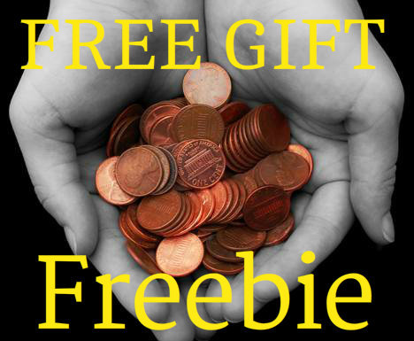Freebie! Free Item Voodoo Magick Good Luck Charm Penny Lottery WIN $ Scratchers