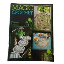 Vintage Magic Crochet Tricot #27 Pattern Magazine all Decoration Instructions - $9.29