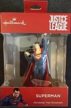 "2018 Hallmark Justice League Superman Superhero Christmas Tree Ornament NEW 4"" T - $16.82"