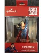 2018 Hallmark Justice League Superman Superhero Christmas Tree Ornament ... - $14.84