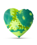 LeLuv Color Changing Large Heart Gear 3D Printed Twister Mood Toy Heat A... - $32.99