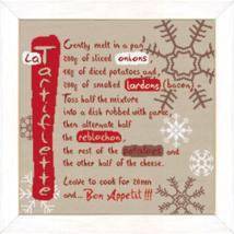 La Tartiflette cross stitch chart Lili Points - $11.70