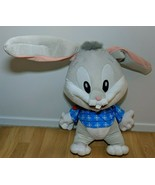 Looney Tunes Baby Bugs Bunny Plush Six Flags Huge Large 3' Feet Tall VTG - $69.29
