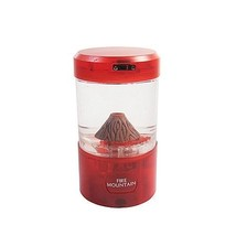 Mini Volcano Eruption Lava Desk Accessory Lamp Light Natures Home / Dorm... - $15.47