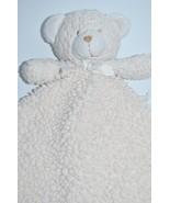 Blankets & Beyond Cream Off White Bear NuNu Free Shipping - $29.39