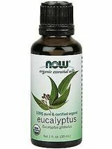 Now Foods, Essential Oil Eucalyptus Organic, 1 Fl Oz - $11.07
